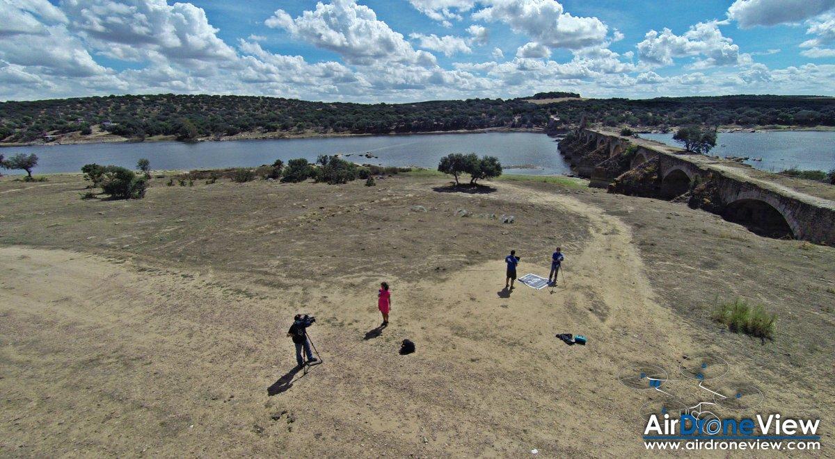 Air Drone View Canal Extremadura entrevista www.airdroneview.com Entrevista Puente Ajuda Portugal drones Badajoz extremadura empresa de badajoz fotografia video aereo drone