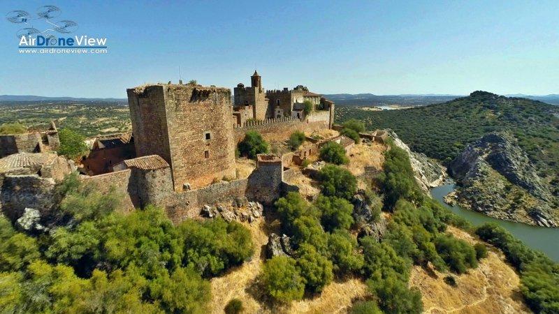 Castillo de Azagala. Alburquerque,Badajoz