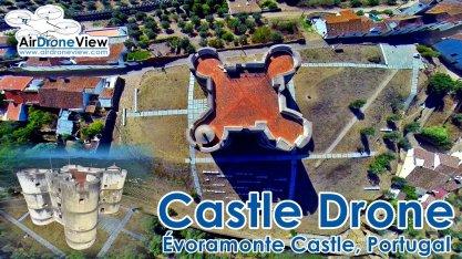 Castillo de evoramonte evora monte castelo castle air drone view www.airdroneview.com foto video aereo drones portugal españa badajoz extremadura empresa grabacion aerea 06ab