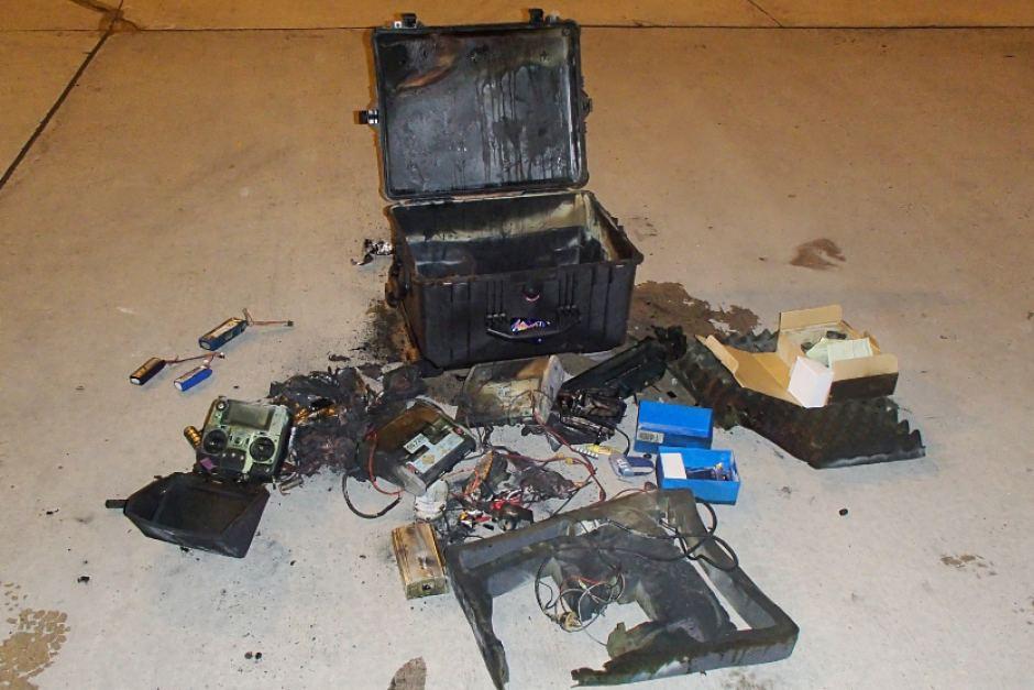 Bater 237 As De Drones No Declaradas Provocan Un Incendio En