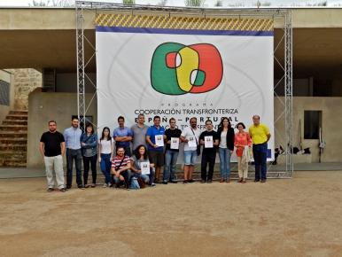 foto fotografia ganadora concurso rally fotografico badajoz cooperacion transfronteriza air drone view participantes photocall fuerte de san cristóbal elvas badajoz 01