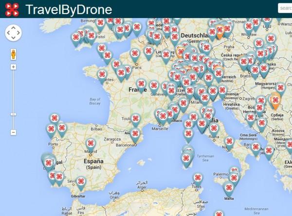 Travel By Drone, recopilación de vídeos con drones por todo elmundo
