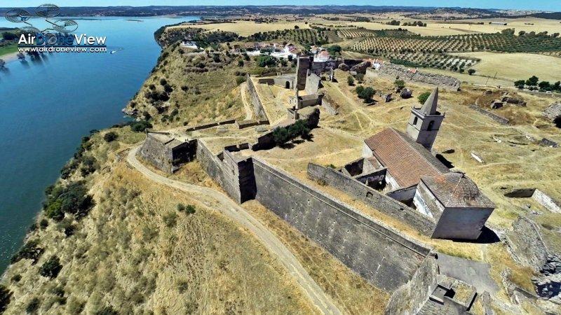 """Video: Fortaleza de Juromenha, Portugal. """"La centinela delGuadiana"""""""