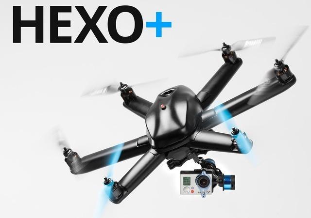 Hexo+ y AirDog: los drones que te persiguen y te graban, no necesitas operador decámara