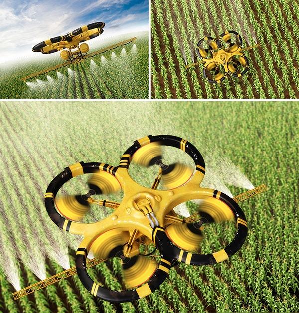 Resultado de imagen para drones fumiga