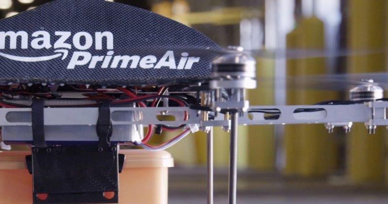 Amazon busca pilotos para sus dronesrepartidores