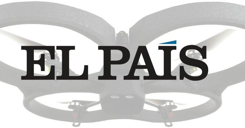 Noticia El Pais – El negocio de los drones ganaespacio