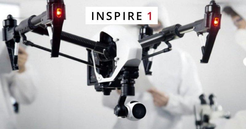 Conoce el Inspire 1, el nuevo drone deDJI