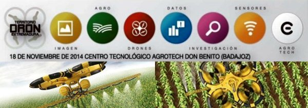 Territorio Dron Extremadura Air Drone View drones agrotech avante extremadura don benito feval agricultura drones rpas www.airdroneview.com debate feval open future telefonica