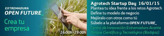 Agrotech Startup Day en Badajoz. 16 deenero