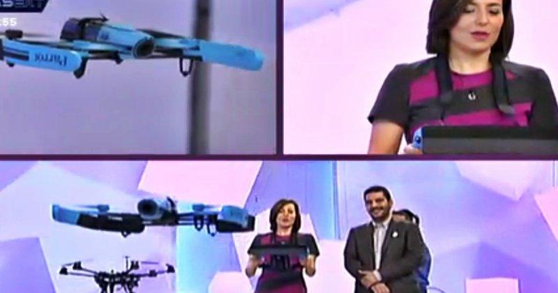 """Air Drone View en el programa """"X la Tarde"""", de CanalExtremadura"""