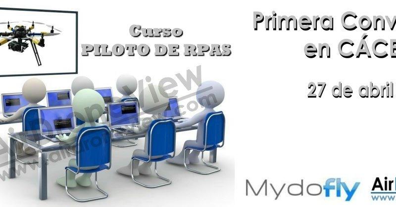 Curso Oficial de Piloto de RPAS enCáceres