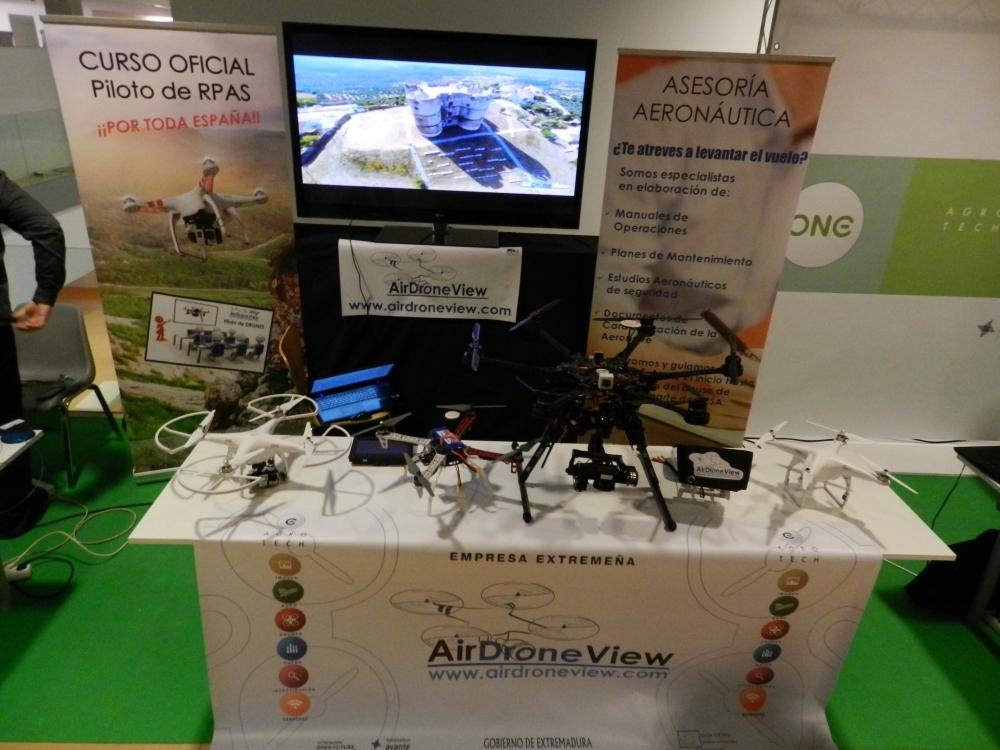 foro i+i 2015 extremadura avante gobex air drone view www.airdroneview.com networking internacionalizacion drones rpas badajoz españa caceres stand (2)