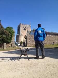 air drone view drones badajoz rpas uav operador drones legalizado www.airdroneview.com castillo dehesa extremadura caceres badajoz rioja dji s800 piedrabuena
