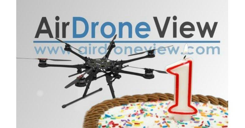 ¡Air Drone View cumple unaño!