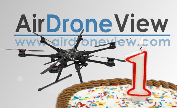 cumpleaños aniversario drones badajoz air drone view www.airdroneview.com un año empresa españa rpas uav trabajos aereos aesa gobex extremadura