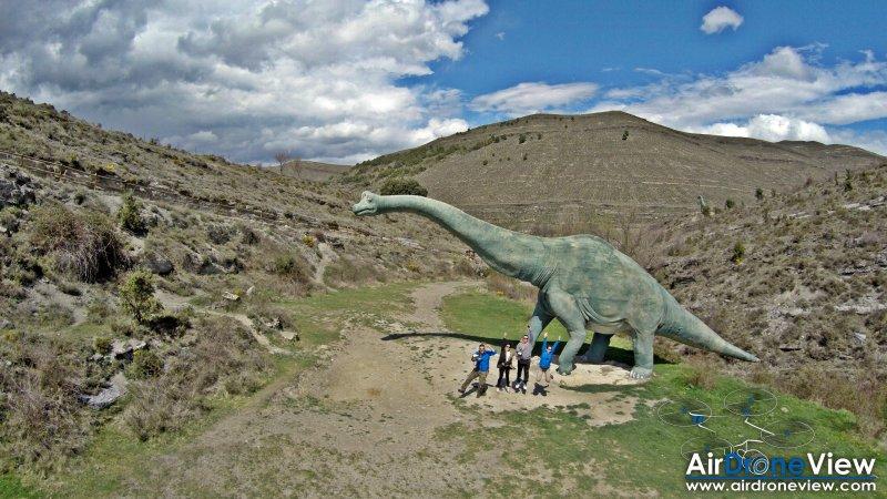 """Un """"dronie"""" en JurassicPark"""