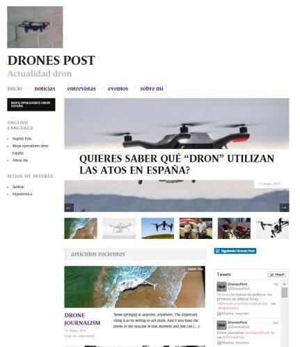drones post web informacion noticias dron rpas uav españa blog roger persiva imagenes entrevistas reportaje
