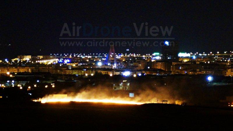Incendio en la noche de San Juan 2015 –Badajoz