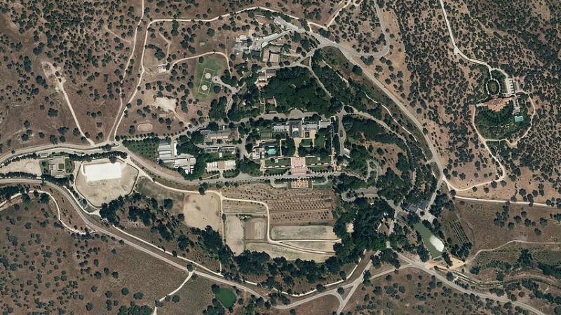 La Guardia Real derriba un dron que sobrevolaba el Palacio de LaZarzuela