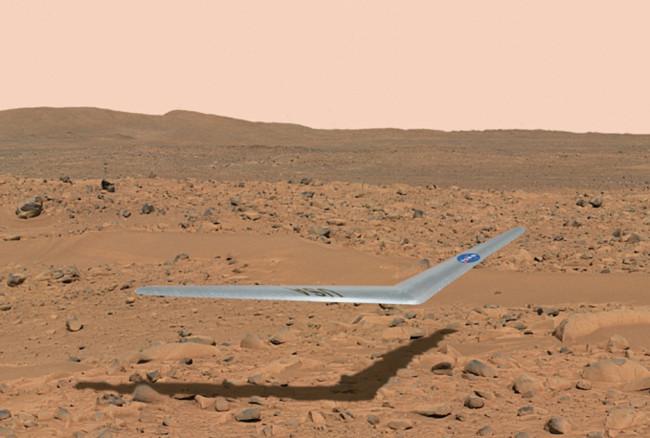 Los drones no se sienten cómodos solo en la Tierra: la NASA quiere enviarlos aMarte