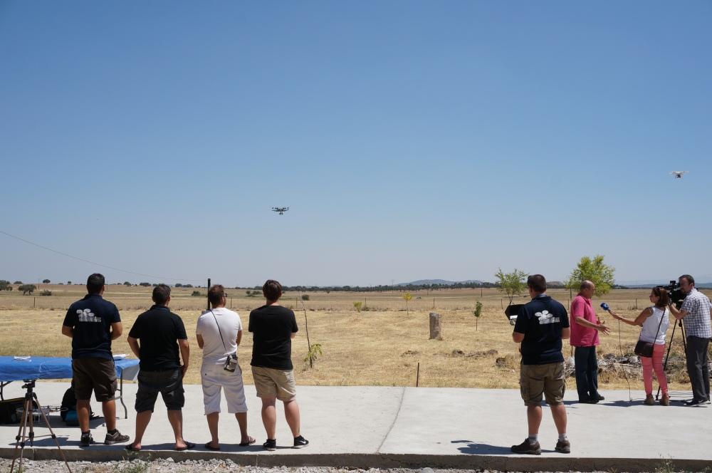 entrevista reportaje canal extremadura formacion piloto drones curso rpas adismonta air drone view mydofly ato aesa fomento badajoz caceres montanchez informativo (15)