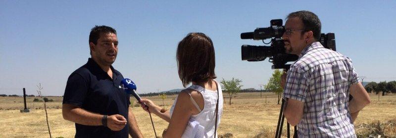 Entrevista a Air Drone View y Mydofly en CanalExtremadura