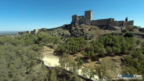 Escenario Contempopranea 2015 Alburquerque Air Drone View 01