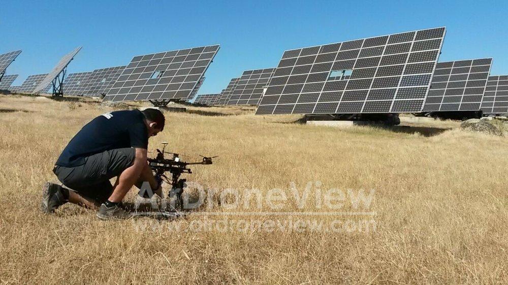 rivero sudon fotovoltaica planta termosolar placas paneles alburquerque extremadura badajoz dron drones air drone view www.airdroneview.com video (5)a