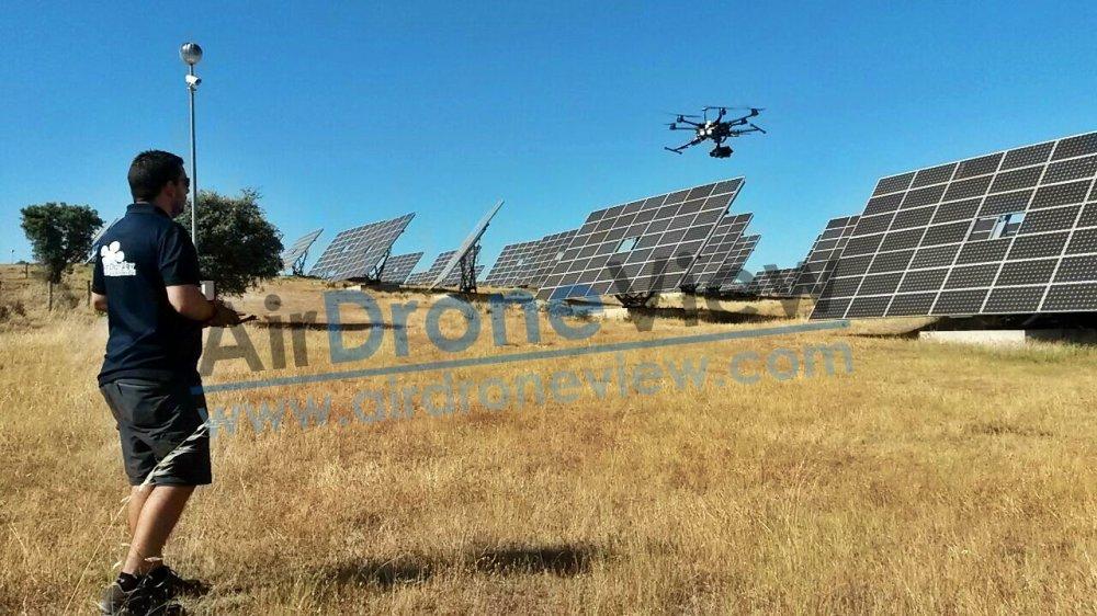 rivero sudon fotovoltaica planta termosolar placas paneles alburquerque extremadura badajoz dron drones air drone view www.airdroneview.com video (8)