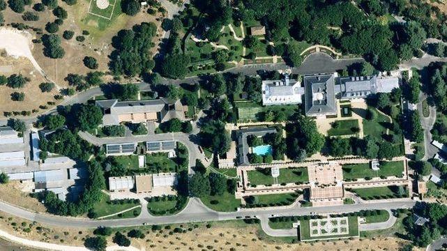 Alarma en La Zarzuela. Drones no identificados están sobrevolando la residencia de los reyes durante lasnoches