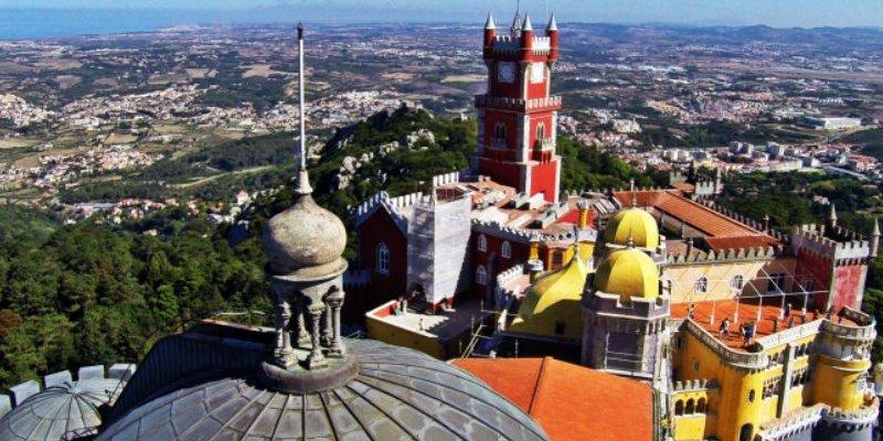 Vídeo del Palacio da Pena, en Sintra(Portugal)