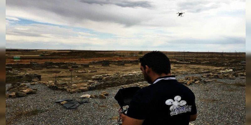 Arqueología con drones