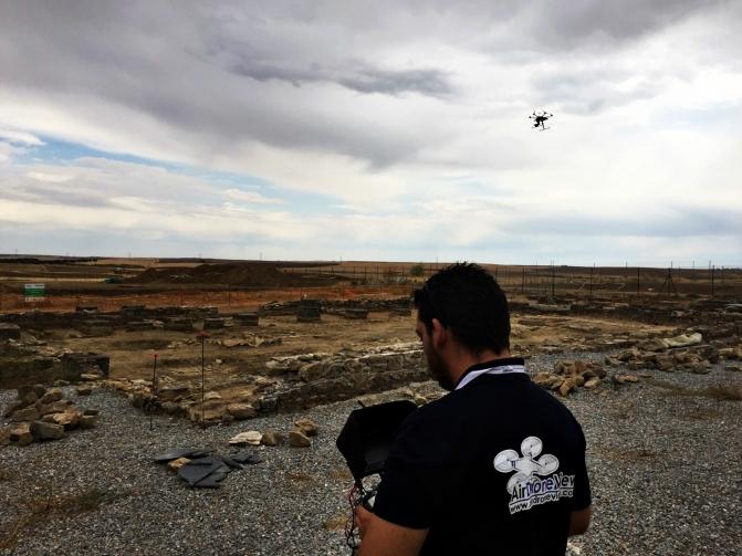 air drone view badajoz extremadura arqueologia dron drones españa operador trabajo arqueologo topografia gps www.airdroneview.com ortofoto 3d reconstruccion yacimiento (35)