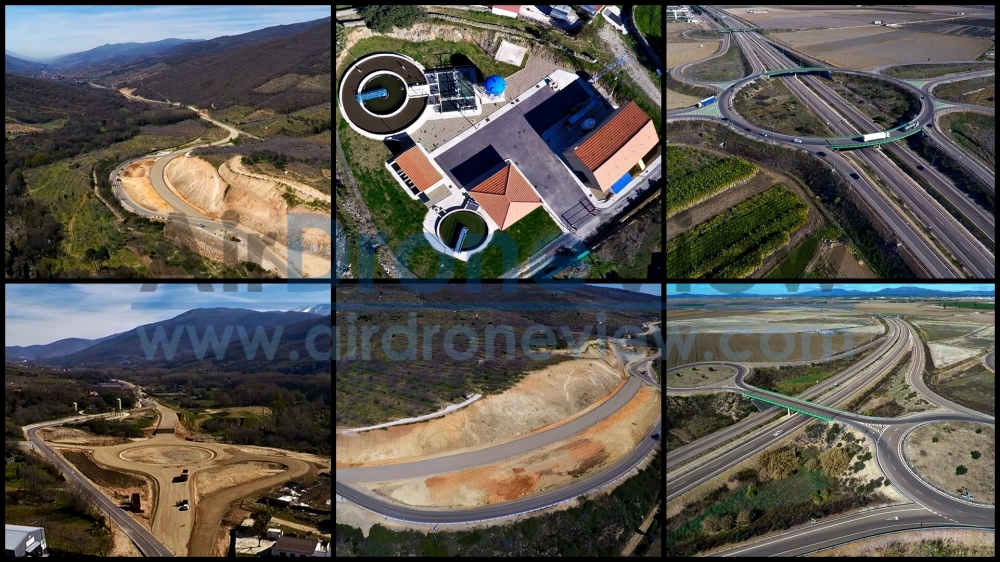 air drone view construccion cantera gravera www.airdroneview.com trabajos aereos video foto topografia ortofoto fotogrametria 3d extremadura españa c