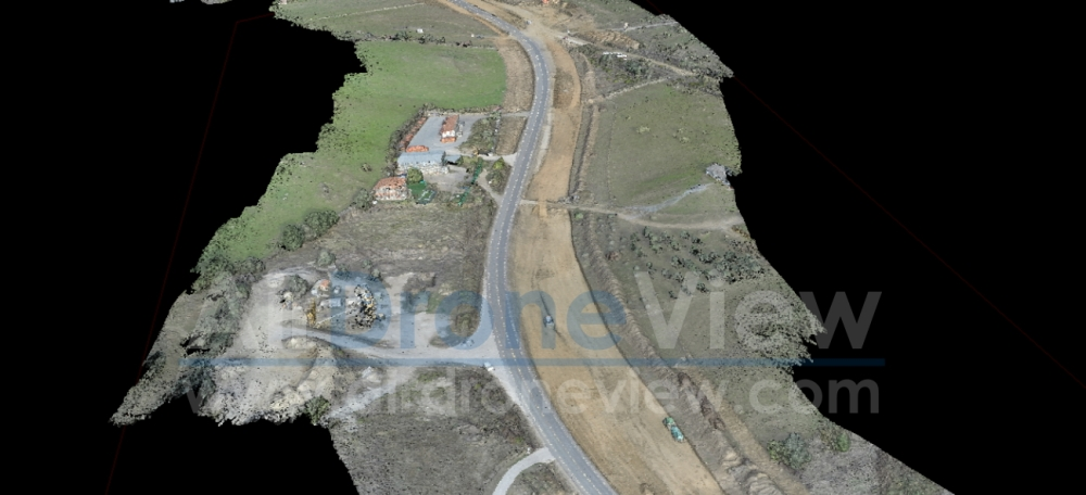 air drone view www.airdroneview.com seguimiento obra civil 3d ortofoto mapping drones españa rpas construccion extremadura badajoz 2