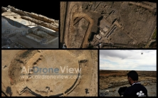 arqueologia drones air drone view