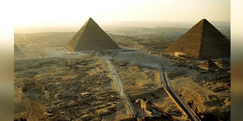 Usarán escáneres y drones para estudiar las pirámides deGiza