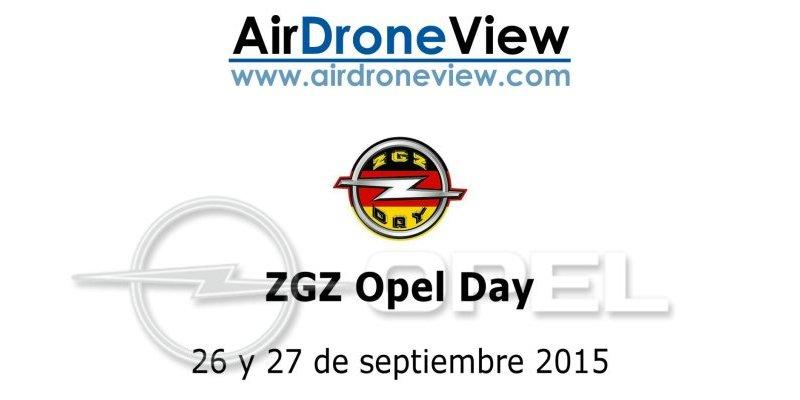 Vídeo del ZGZ Opel Day – Zaragoza 25 y 26 septiembre2015