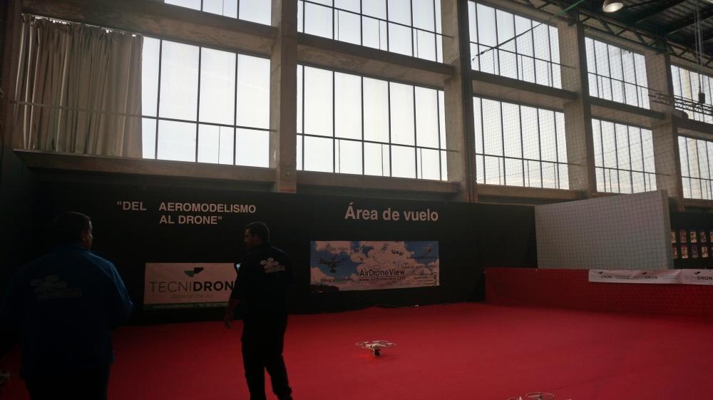 aeromodelismo dron air drone view www.airdroneview.com drones rpas uav españa expo ifeba badajoz portugal fehispor 2015 exhibicion exposicion profesional badajoz merida caceres extremadura (6)