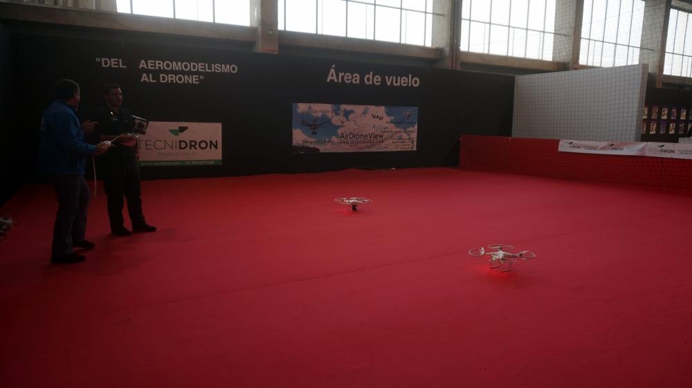 aeromodelismo dron air drone view www.airdroneview.com drones rpas uav españa expo ifeba badajoz portugal fehispor 2015 exhibicion exposicion profesional badajoz merida caceres extremadura (7)