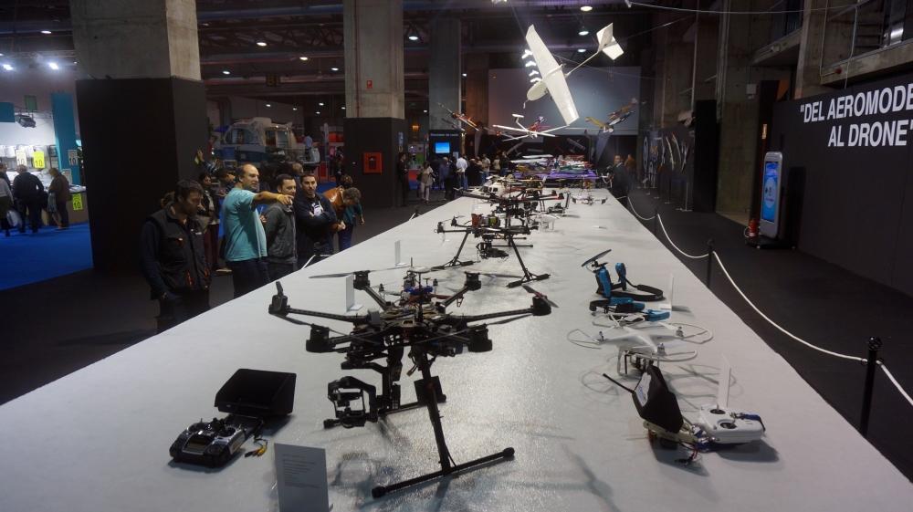 aeromodelismo dron air drone view www.airdroneview.com drones rpas uav españa expo ifeba badajoz portugal fehispor 2015 exhibicion exposicion profesional badajoz merida caceres extremadura (35)