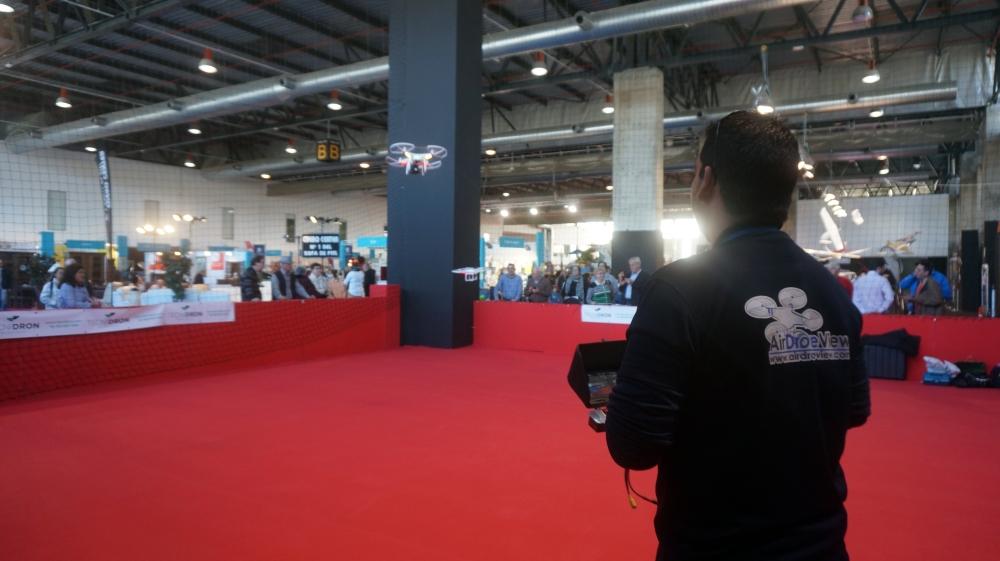 aeromodelismo dron air drone view www.airdroneview.com drones rpas uav españa expo ifeba badajoz portugal fehispor 2015 exhibicion exposicion profesional badajoz merida caceres extremadura (51)