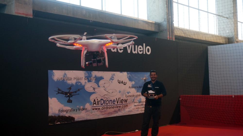 aeromodelismo dron air drone view www.airdroneview.com drones rpas uav españa expo ifeba badajoz portugal fehispor 2015 exhibicion exposicion profesional badajoz merida caceres extremadura (75)