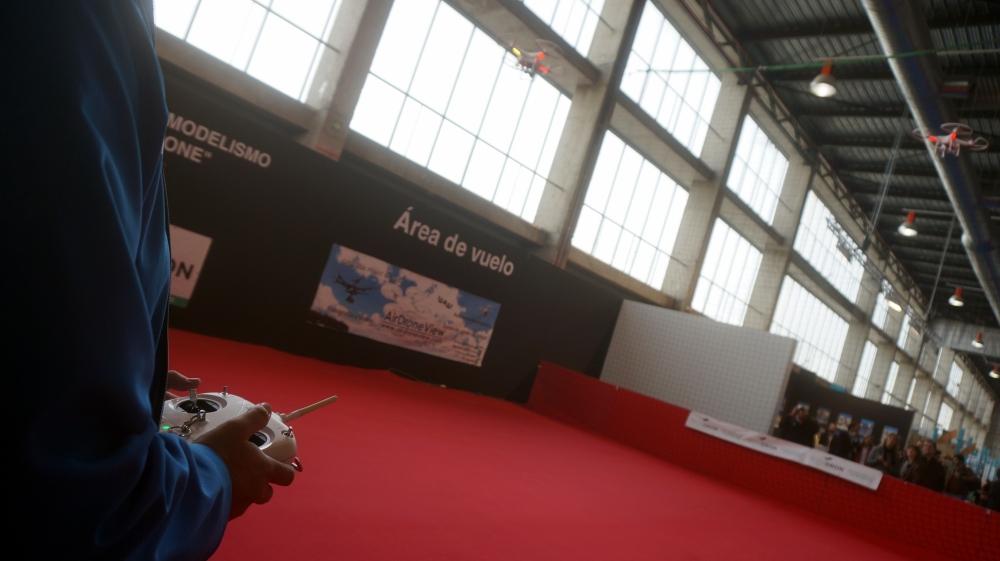aeromodelismo dron air drone view www.airdroneview.com drones rpas uav españa expo ifeba badajoz portugal fehispor 2015 exhibicion exposicion profesional badajoz merida caceres extremadura (12)