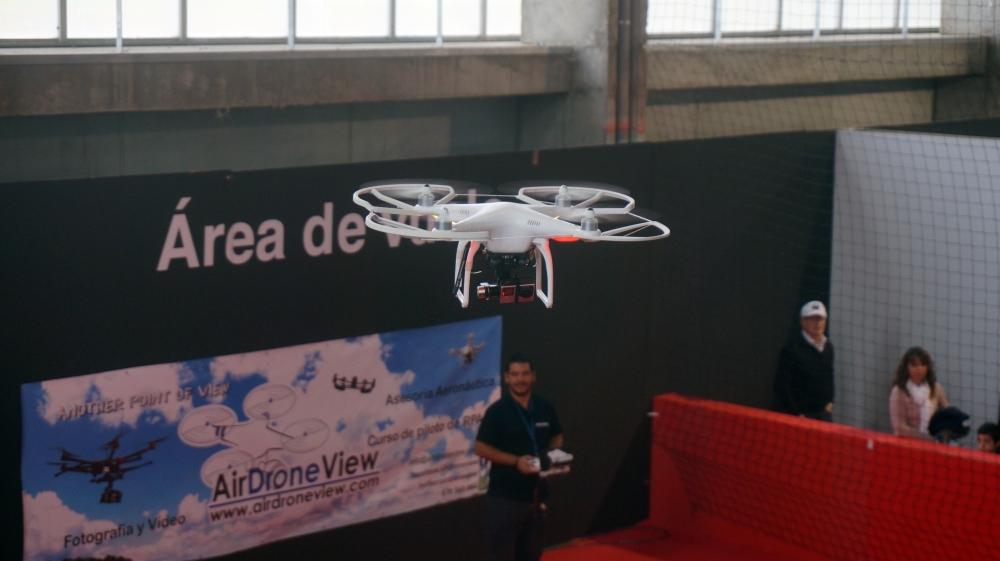 aeromodelismo dron air drone view www.airdroneview.com drones rpas uav españa expo ifeba badajoz portugal fehispor 2015 exhibicion exposicion profesional badajoz merida caceres extremadura (114)