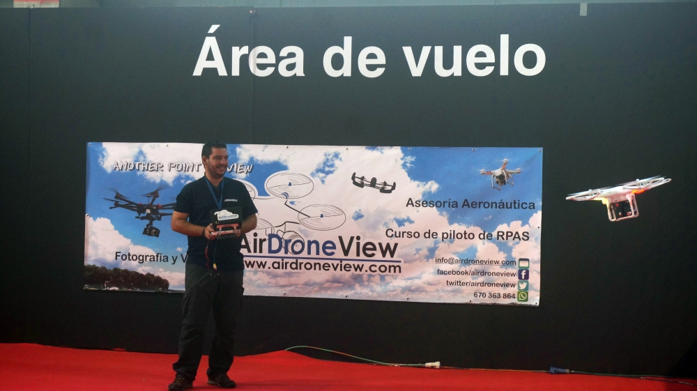 aeromodelismo dron air drone view www.airdroneview.com drones rpas uav españa expo ifeba badajoz portugal fehispor 2015 exhibicion exposicion profesional badajoz merida caceres extremadura (131)
