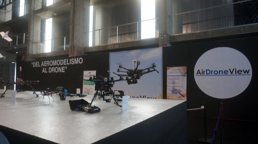 aeromodelismo dron air drone view www.airdroneview.com drones rpas uav españa expo ifeba badajoz portugal fehispor 2015 exhibicion exposicion profesional badajoz merida caceres extremadura (29)