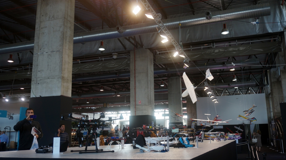 aeromodelismo dron air drone view www.airdroneview.com drones rpas uav españa expo ifeba badajoz portugal fehispor 2015 exhibicion exposicion profesional badajoz merida caceres extremadura (45)