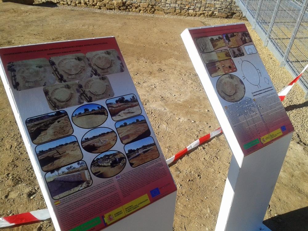 caparra air drone view teatro anfiteatro romano yacimiento extremadura ortofoto arqueologia drones españa badajoz caceres empresa 3d levantamiento (5)